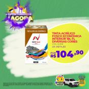 TINTA ACRÍLICO FOSCO ECONÔMICA INTERIOR 18L FL DIVERSAS CORES