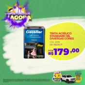 TINTA ACRÍLICO STANDARD 18L DIVERSAS CORES