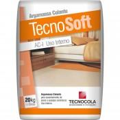 ARGAMASSA TECNOCOLA 20 KG TECNOSOFT INTERNO ACI
